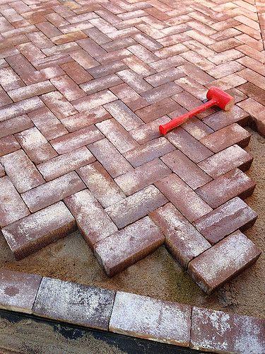Denver Patio Design Construction Herringbone