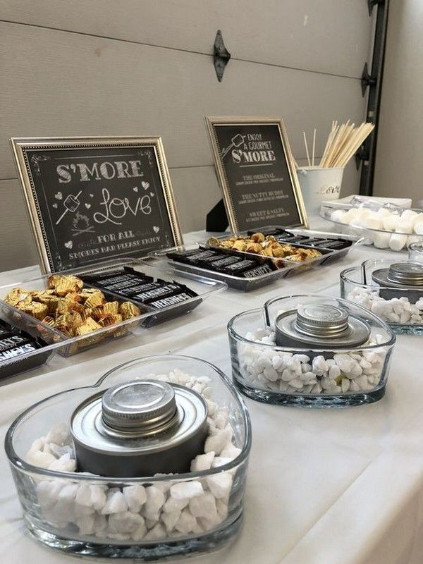 Trending-20 Sweet S'mores Bar Wedding Ideas for Fall and Winter
