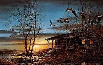 Terry Redlin Evening Retreat Legacy Canvas