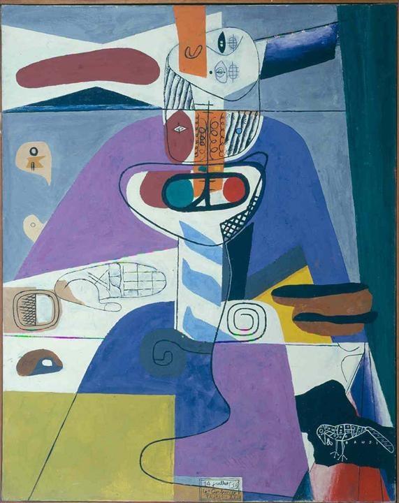 Fondation Le Corbusier - Peintures - Taureau XVI