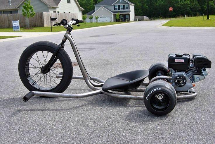 Trike daddy customs drift trike