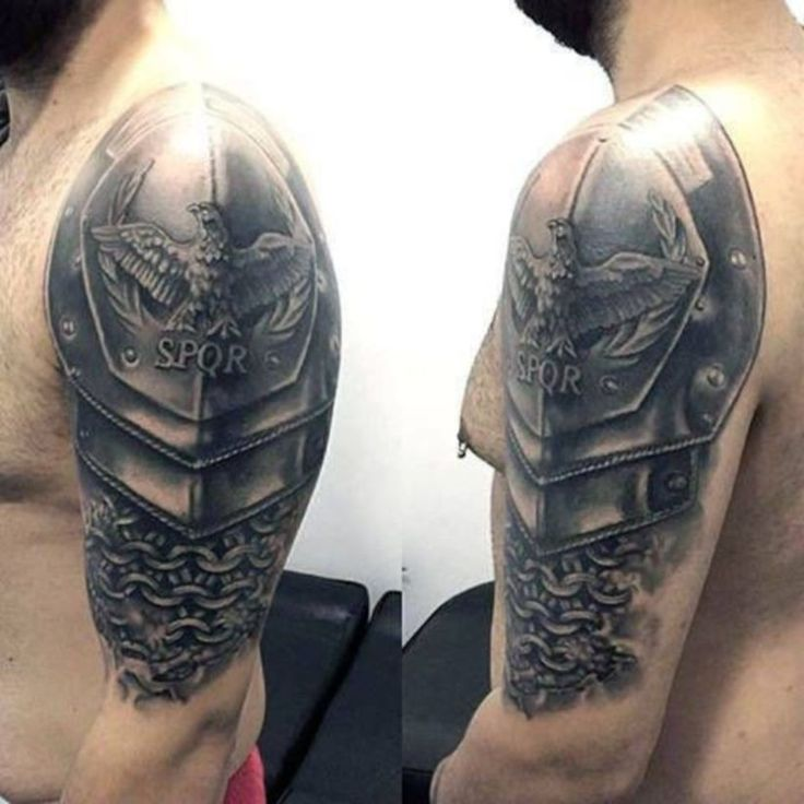 69 With Out Tattoos: Pin By Chrisdan Estocapio On Shoulder Armour Tattoos