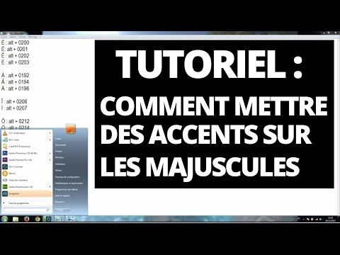 Accent et majuscule : Comment mettre des accents sur les majuscules - YouTube