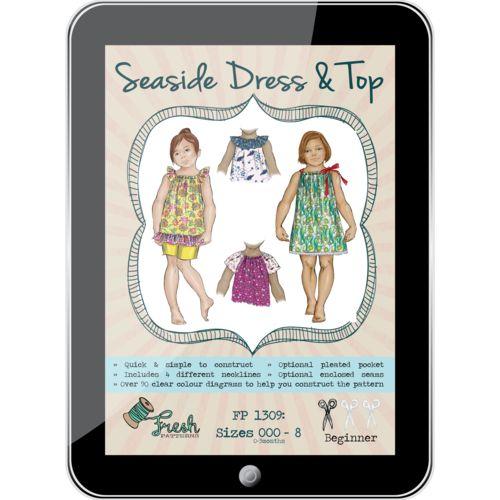 Seaside Dress & Top PDF Pattern