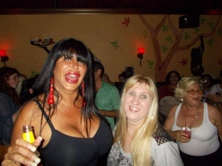 BIG ANG FROM MOB WIVES IN HER BAR THE DRUNKEN MONKEY   ( STATEN ISLAND NEW YORK )-  MY DAUGHTER WORKED THERE AS BARTENDER & MY SON WAS BAR BACK-   BIG ANG IS A DOLL !! LOVE THAT GREAT LADY-GOOD PERSON !!!  I HAVE SPENT MANY A NIGHT IN THAT BAR ALWAYS HAD A GREAT TIME THERE!!