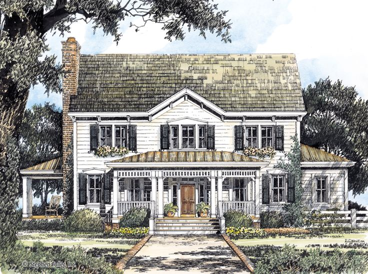97 best stephen fuller images on pinterest | country home plans