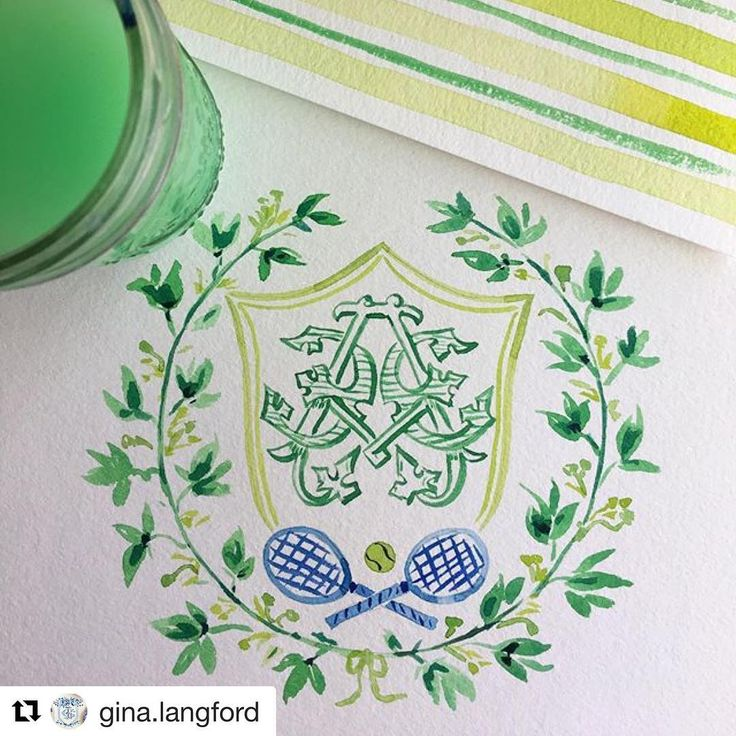#Repost @gina.langford with @repostapp ・・・ We think this is pretty swell too! @gina.langford anyone? But seriously, this is going to make some chic stationery.  Bespoke monogram by @numberfoureleven