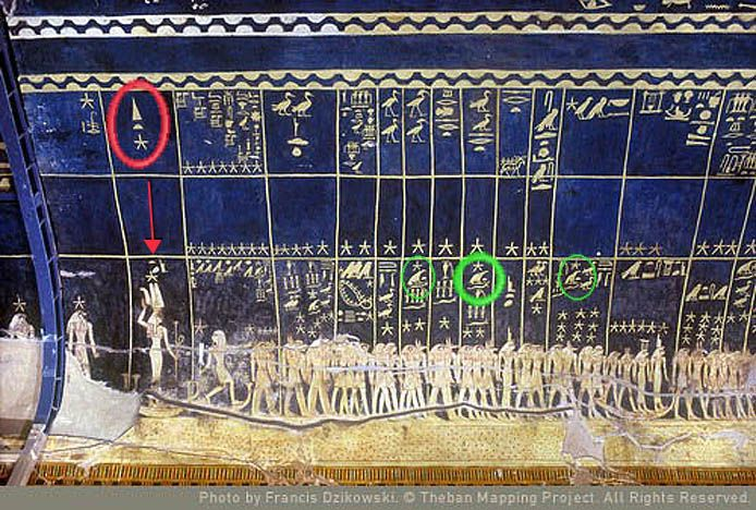 From Seti I tomb --> The Secret of Anubis goes into detail about Ancient Egyptian Astronomy  http://www.secret-of-anubis.com/