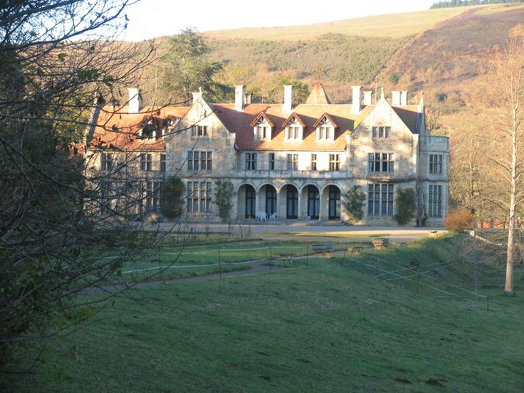 Old English mansion