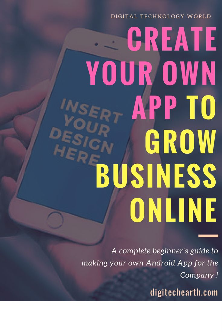 Best 25 create your own app ideas on pinterest build your own how to create your own app to grow business online ccuart Choice Image