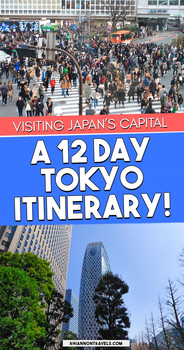 A Tokyo Itinerary for First Time Visitors | Rhiannon Travels
