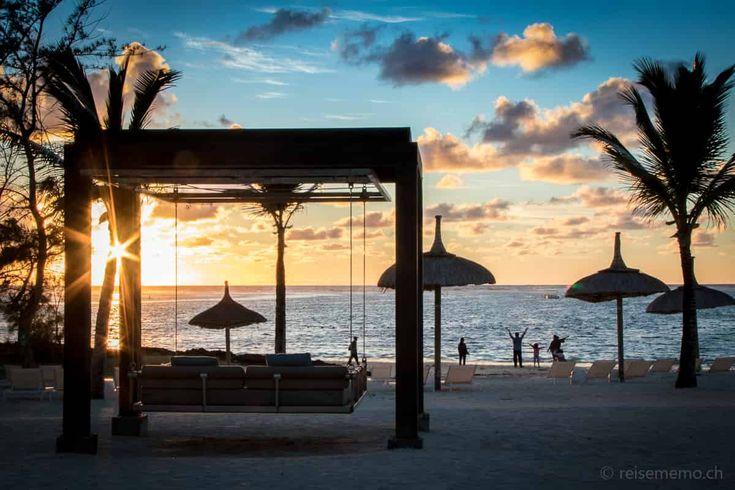 #Sonnenuntergang auf #Mauritius #BelleMare