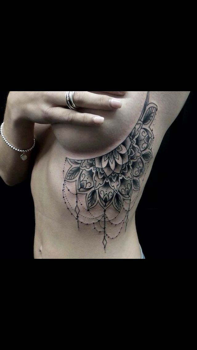 Awesome boob tattoo pics