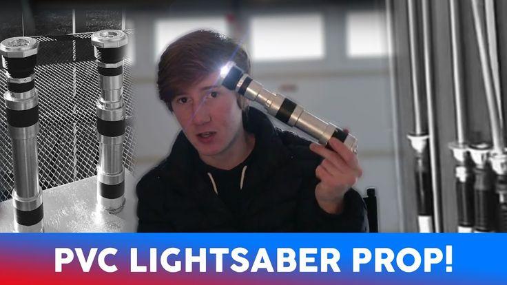 DIY Lightsaber Prop! - YouTube
