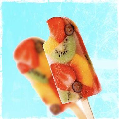 Fruit Salad Ice Pops