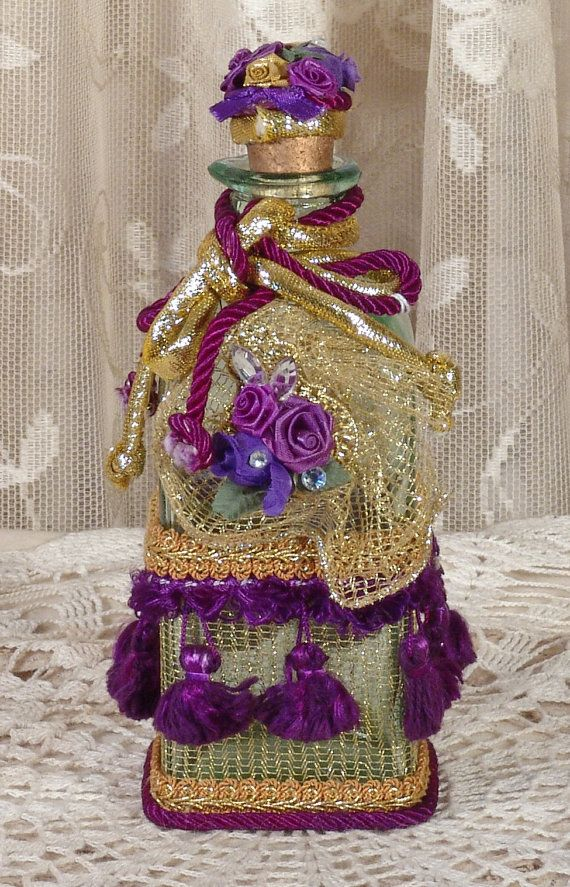 Victorian Perfume Bottle /  Keepsake  by VictorianKeepsakes,