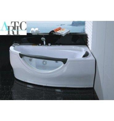 Best 25 baignoire d angle balneo ideas on pinterest baignoire d angle baln - Baignoire balneo 160 ...