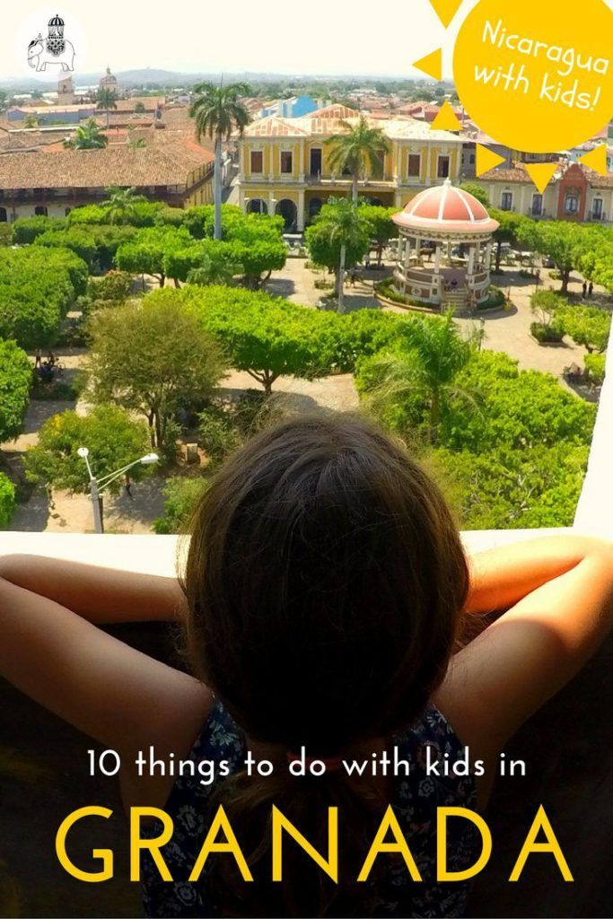 Nicaragua With Kids: 10 Great Things to do in Granada. There is SO much to see and do in Granada with kids, and it's an easy city to discover too. Here we list our top 10 experiences in & around this beautiful lakeside city.