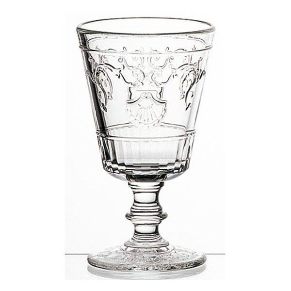 La Rochere Versailles Wine Glass ($11) ❤ liked on Polyvore featuring home, kitchen & dining, drinkware, square wine glasses, la rochere wine glasses, la rochère, floral wine glasses and la rochere glassware