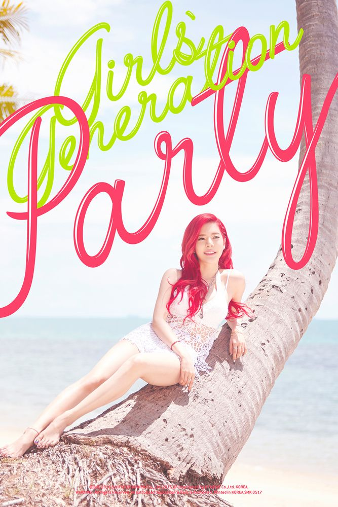 Girls' Generation 2015 comeback: Party Teaser photos: Sunny