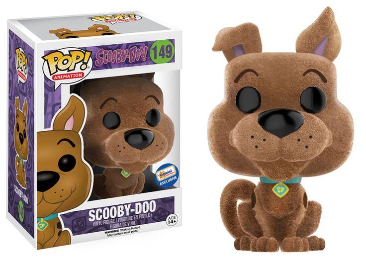 Scooby-Doo: Flocked Scooby-Doo Pop figure by Funko, Gemini Collectibles exclusive