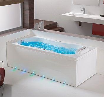 99 best images about salle de bain on pinterest - Salle de bain rectangulaire ...