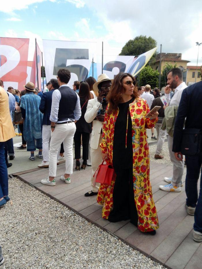 A long statement coat #pittiuomo #fashion