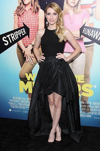 Emma Roberts  Elbise: Michael Kors