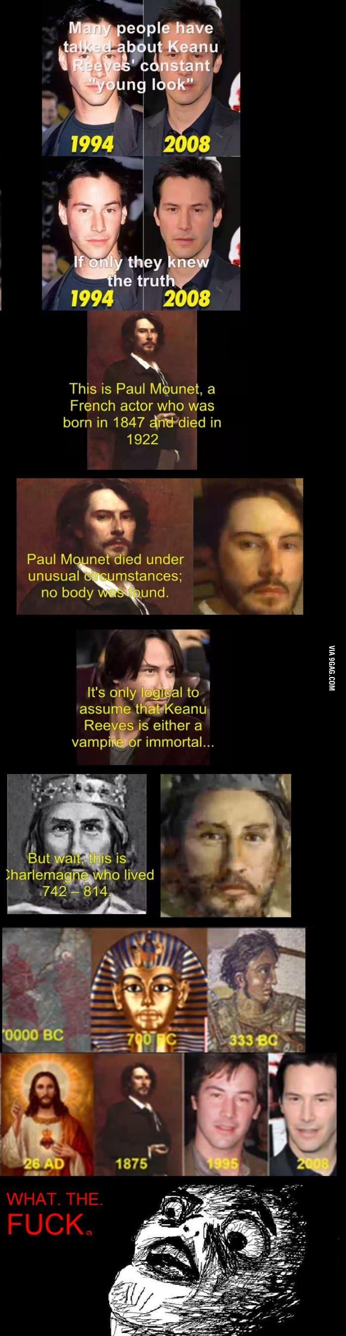 The immortal Keanu Reeves.