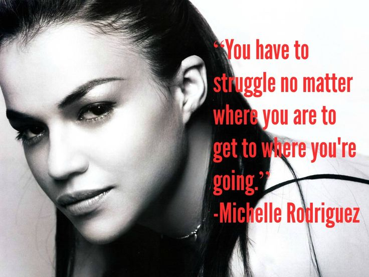 Michelle Rodriguez Quote