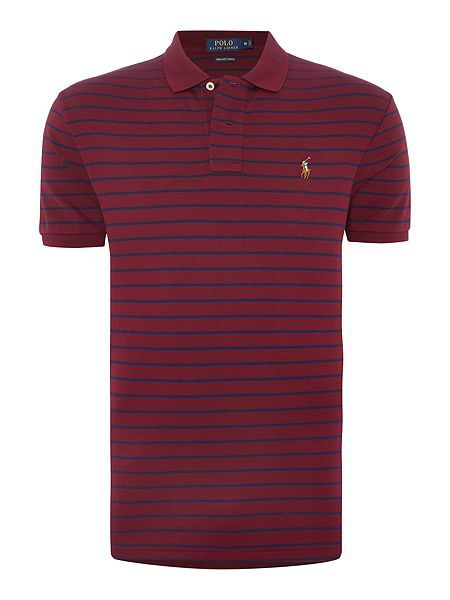 75bfa6205 ralph lauren polo glasses, Mens polo ralph lauren clothing : polo ralph  lauren pima soft touch striped polo shirt - wine polo shirts,ralph lauren  boot, ...