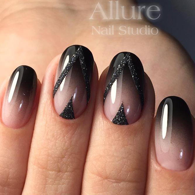 Black nail polish sexy