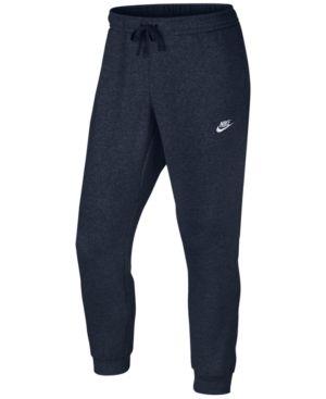 Nike Men's Fleece Jogger Pants - Blue 2XL