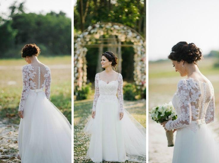 Vestido de noiva para casamento no campo por Carol Hungria - Foto The Kreulichs