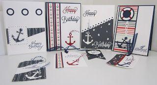 byRob: Men's Card Class. Sail Away. Saturday 11th Februa...