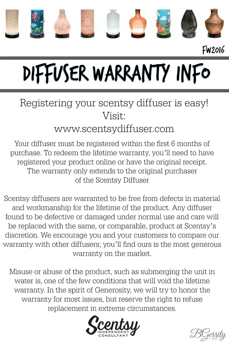 SCENTSY - Diffusers Fall/Winter 2016 FLYER BY: Brittany Gerrity Admin Of: No-Nonsense Canadian Flyer Sharing Group On Facebook www.brittanygerrity.scentsy.ca