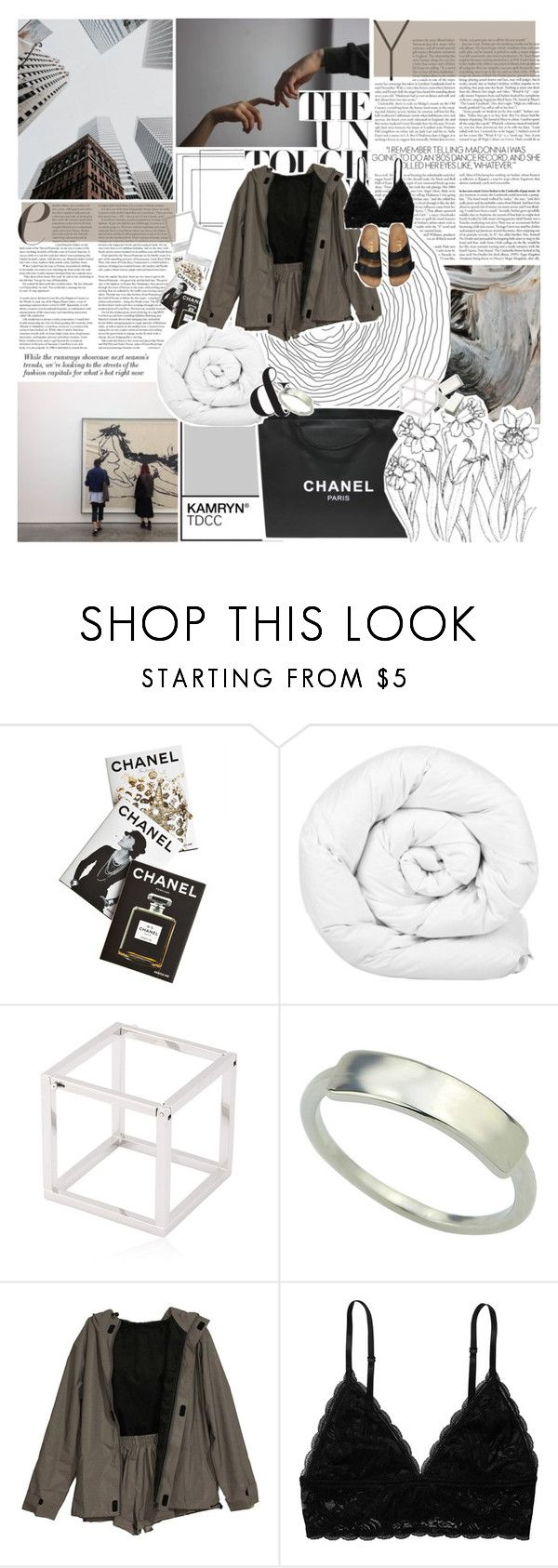 """""""perspective perception    .50"""" by drops-of-venus ❤ liked on Polyvore featuring Chanel, Assouline Publishing, Brinkhaus, Caterina Zangrando and Monki"""