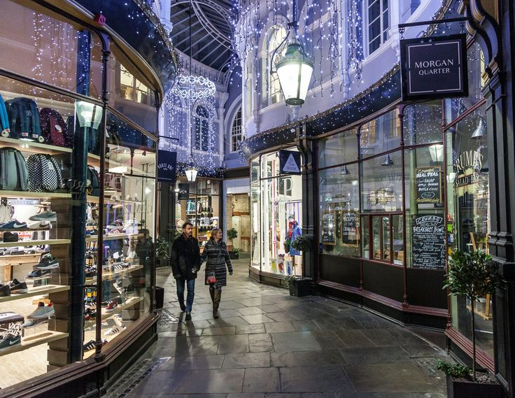 ~ Victorian arcade in Cardiff, Wales, UK ~ my favorite city in the world ~