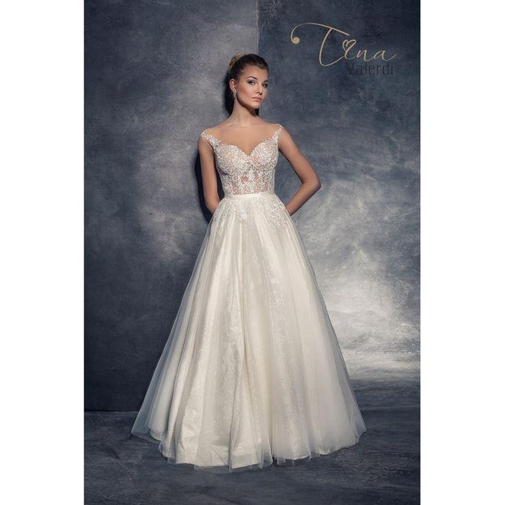 Extravagantné nezabudnuteľné svadobné šaty na predaj