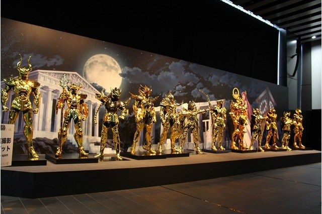 Cavaleiros do Zodíaco armaduras de ouro em tamanho real