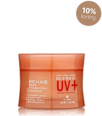 Alterna Bamboo UV+ Rehap Deep Hydration Masque #Alterna #Bamboo #haarproducten #haarverzorging #kappersbenodigdheden