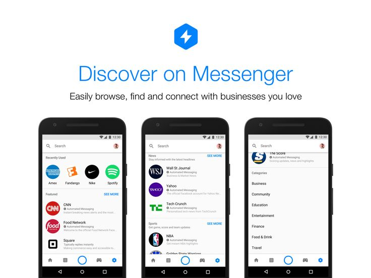 Facebook's new attempt to get both brands and people talking to bots on Messenger