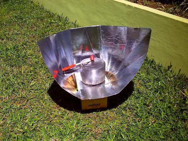 gabarito para fogão solar