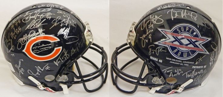 1985 Chicago Bears Team Signed Super Bowl XX Champs Logo Authentic Helmet Signed By (30) With Mike Ditka, Jim McMahon, Mike Singletary, Richard Dent (Schwartz COA)
