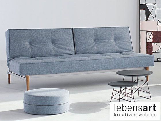 Innovation Schlafsofa Splitback   Lebensart Design Möbelhaus Berlin