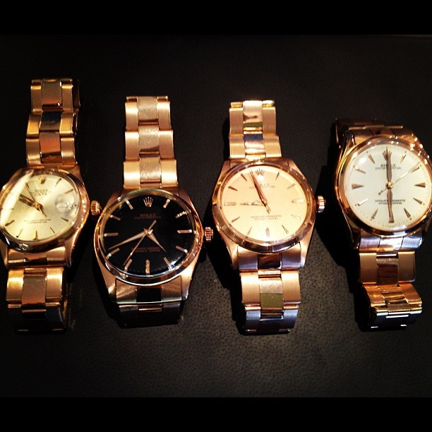 """What time is it? """"One of my Rose Gold Rolex's will know"""" VIP #shophers #rolex #fashiontime #luxury"""