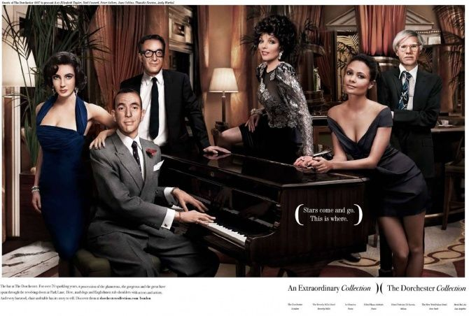 Dorchester Collection's first advertising campaign with DRAFTFCB London.