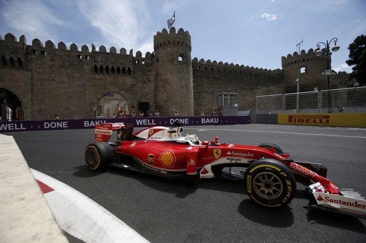Formula one in Baku