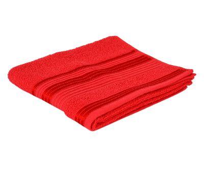Toalha de Rosto Delicata Vermelha - 45X70cm