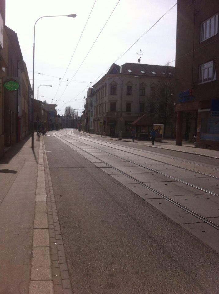 Dukelska street, Brno, Czech republic